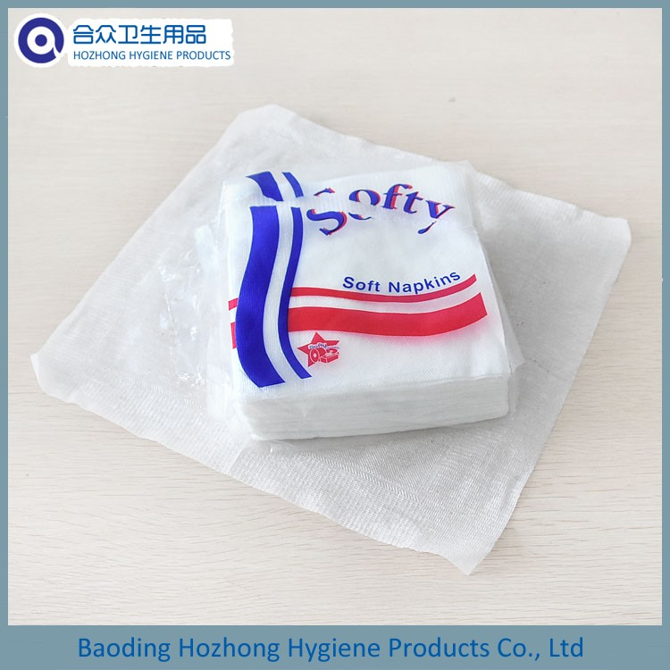 Single Ply Embossed Paper Napkin