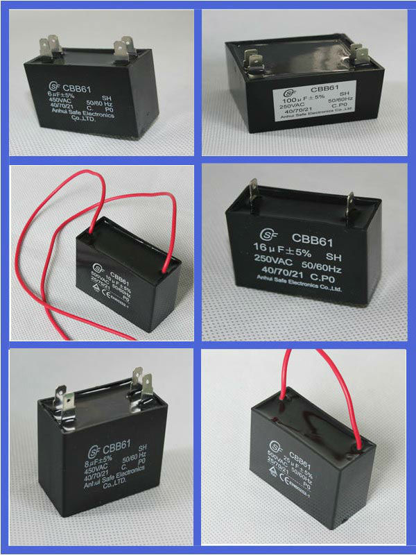 Ceiling Wires Fan Sh Capacitor 4 5uf 450vac