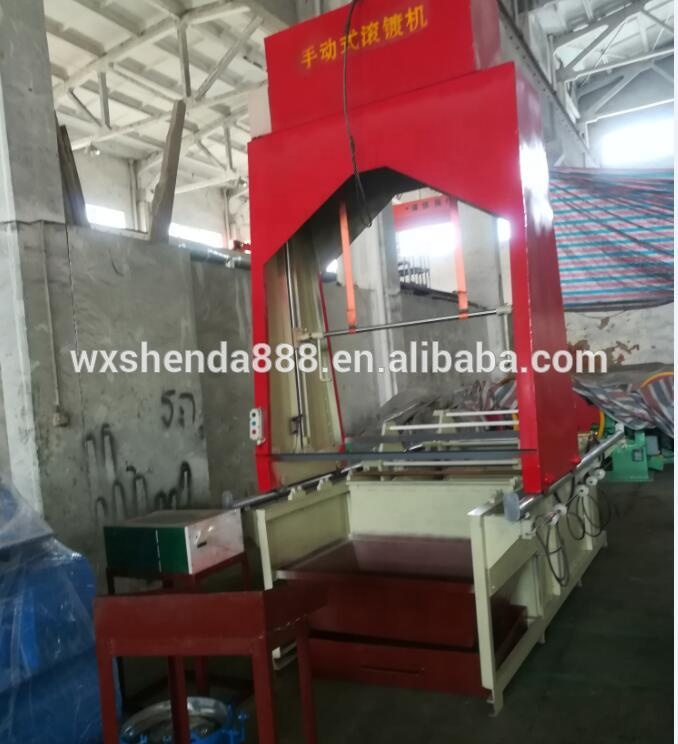 Electrical 400-1500kg capacity Nail/screw Galvanized machine approved by CE ISO9001