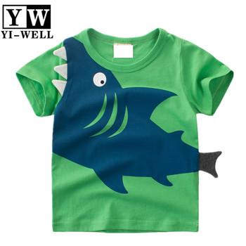 1f542d618 100% algodón orgánico 3D cara animal lindo diseño niño desgaste o cuello  camisetas ...