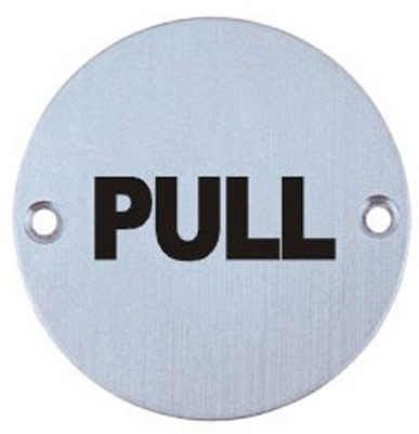 good quality stainless steel 304/316 toilet sign plate PULL
