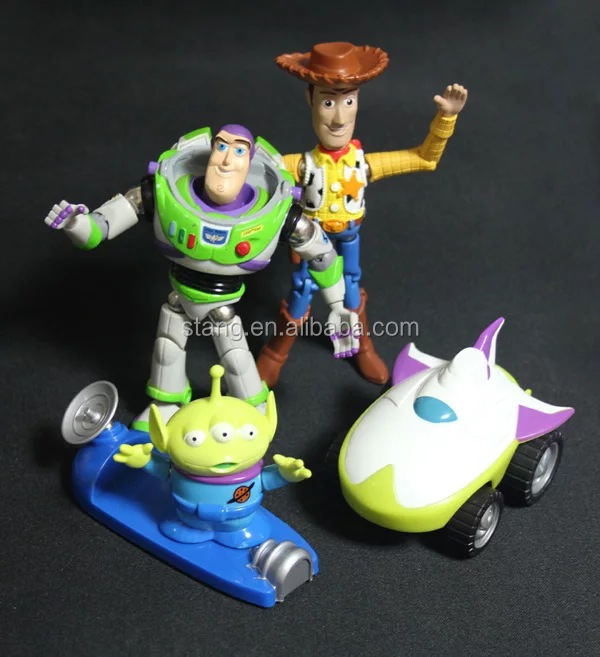 Aliens Buzz light year Woody magnet toy models plastic figure