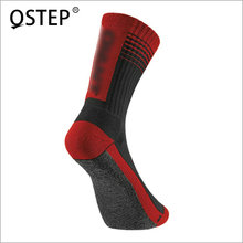 Custom design various color breathable fancy cotton men cycling tube socks