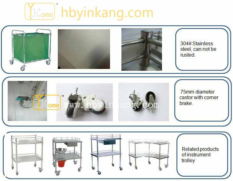 YKK030 New!!!price For Hospital Dressing Trolley
