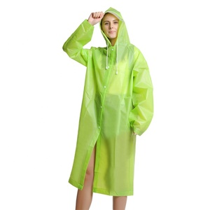 Amazon hot selling 100% waterproof transparent plastic raincoat fetish
