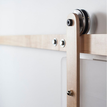 Superb Black Box Rail Barn Door Hardware/ Sliding Door Fittings