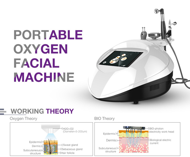 Home design oxygen facial machine skin care gl3