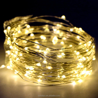 Kany LED String Lights Copper Wire Lights,100 LED 33 ft Battery Operated Waterproof Starry String Lights, Decorative Rope Lights
