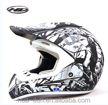 HD hot dot and ece approved motorcross helmet for racing motor