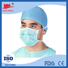 NELSON Disposable Non woven 2Ply/3ply/4ply Ear loop & Tie On Surgical Disposable Face Mask/Mouth Cover