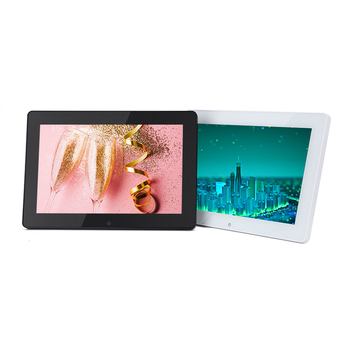 12 inch LCD display wall mount android tablet for students attendancy