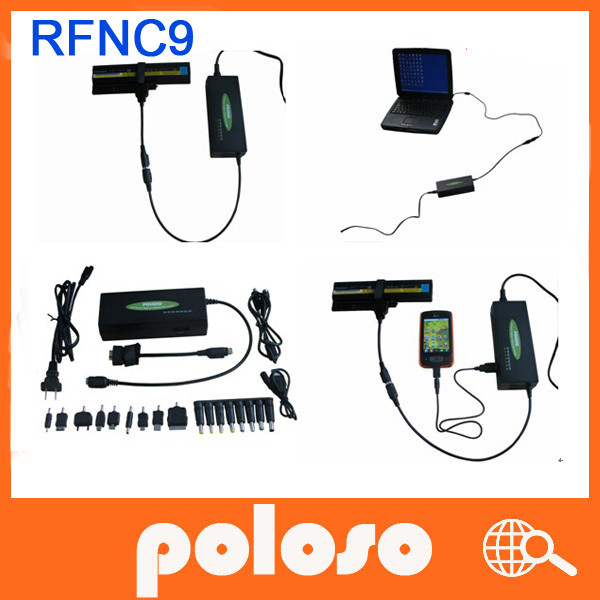 poloso RFNC9 for gateway laptop external battery charger & Universal laptop adapter