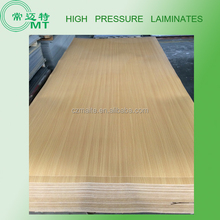 Single side decorative High Pressure Laminate/solid/marble/wood color