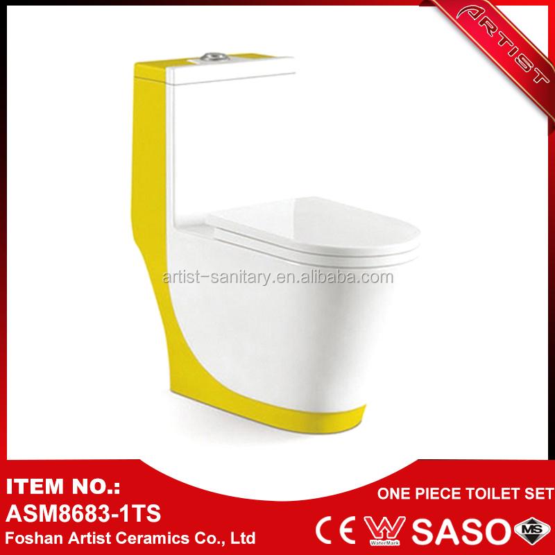 Neuheiten 2016 wand hing gelb porzellan farbe wc f r for Badezimmer neuheiten 2016