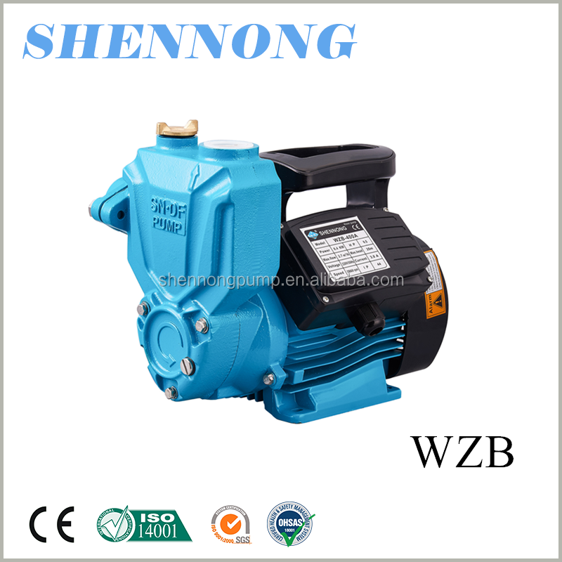 1hp self-priming electric booster water pump to pump water