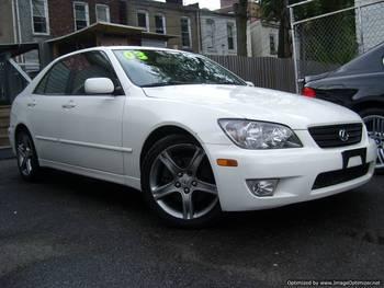 Nice 2003 Lexus IS300 Branco W/CD 6 Disc Chgr, Couro, S/