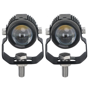 Loyo Auto Car Mini 12v 24v 15w 30w Round Driving Light Led Flood Spot Work Light for Motorcycle Truck Offroad Tractor