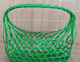 Eco-friendly Weaving Oval Garden Colorfull Bamboo Fruit Basket Bamboo Gift Basket