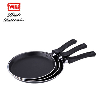 Multi functional aluminum non-stick hot sale 2019 large kitchen tawa pizza pan set