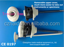Single use laparoscopic trocars/surgical instruments