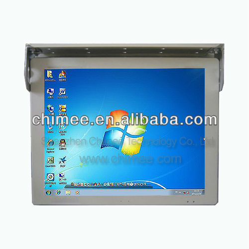 15 inch LCD Automotive Computer,Bus All In One PC