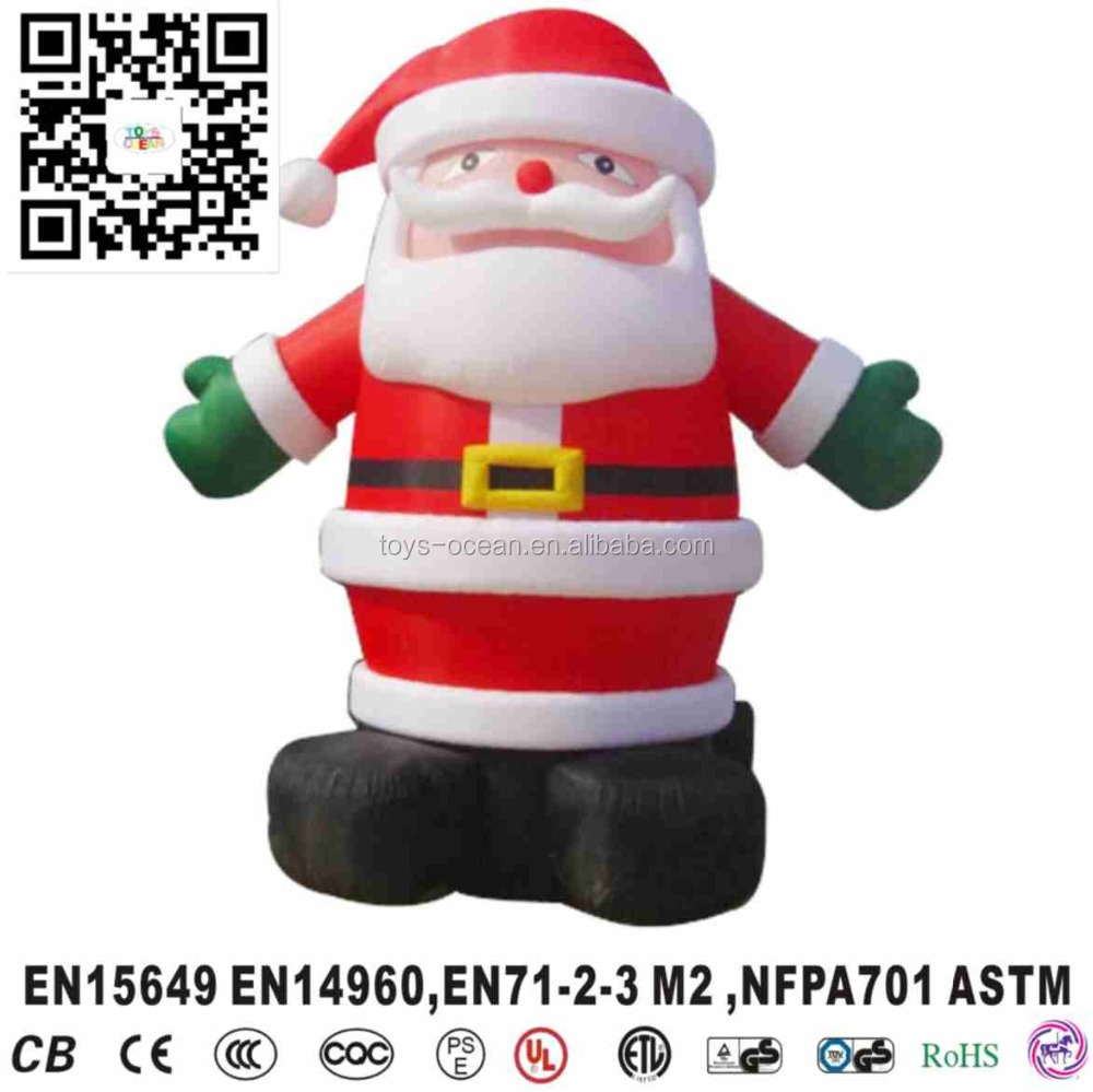 Giant inflatable santa claus/Inflatable Christmas Santa Claus / inflatable Father Christmas