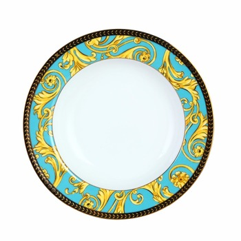 8.5 Inches Luxury Fine Hyper White Porcelain Antique Dinner Plate of Sea Goddness  sc 1 st  Alibaba : antique dinner plate - pezcame.com