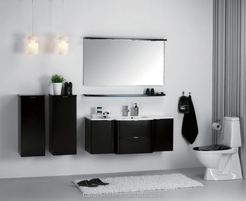Italian Design Modern Matte Black Bathroom Cabinet,Mdf Bathroom  Vanity,Bathroom Furniture   Buy Italian Design Bathroom Cabinet,Mdf  Bathroom ...