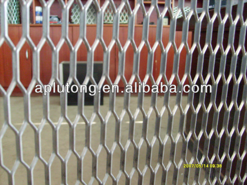 Lt Architectural Expanded Metal Extruded Metal Mesh For Facade ...