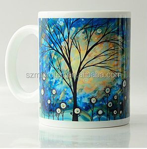 Wholesale Price White Mug Cups Mug For Sublimation Sublimated 11oz