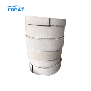 White color woven brake lining rolls in customised sizes