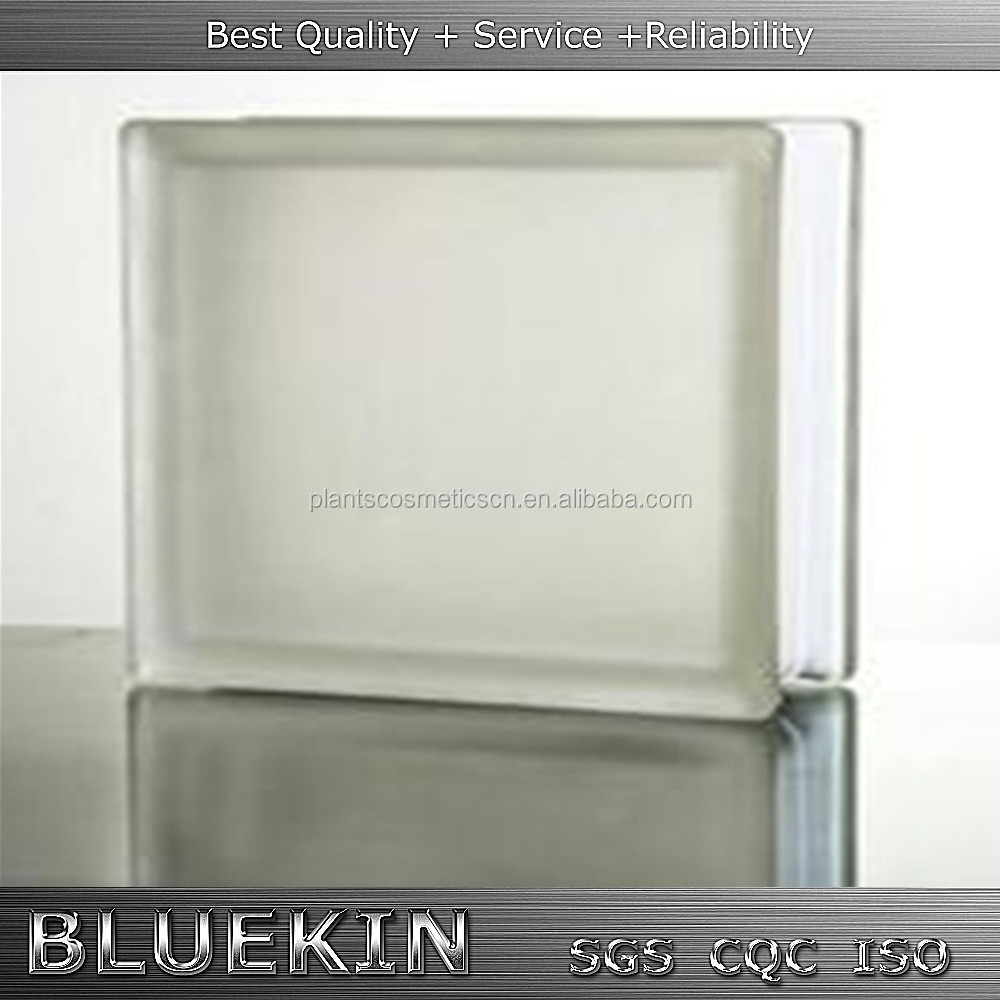 low price hollow clear/colored glass block walls in bathroom