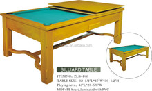 high quality solid wood multi dinning game table for sale 2015