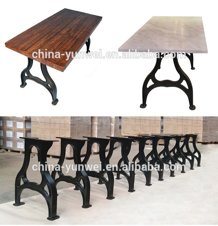 Custom Black Antique Good Quality Decorative Metal Table Legs