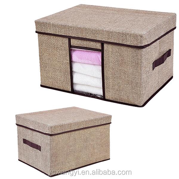 hause beh lter faltbare stoff mehrzweck karton falten kleidung mehrzweck aufbewahrungsbox. Black Bedroom Furniture Sets. Home Design Ideas