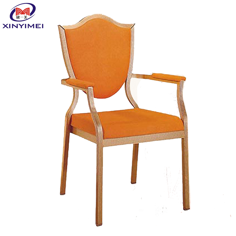 Foshan XYM Furniture best quality metal arm chair