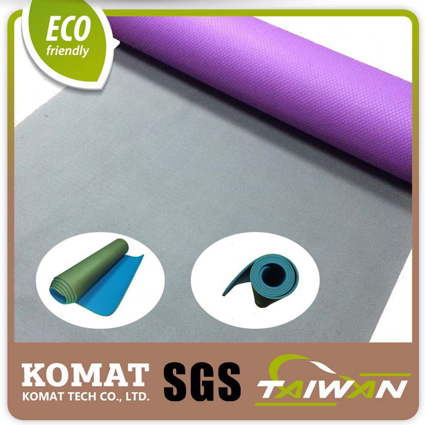 Patented 100% TPE Base Dual Layers and Color TPE Sheet Eco Yoga Mat