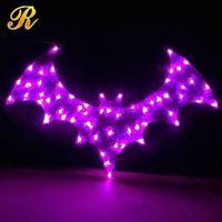 Home decoration wall hanging LED motif light halloween decoration