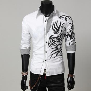 China Supplier Wholesale Men's Dress Shirt Latest Shirt Designs ...
