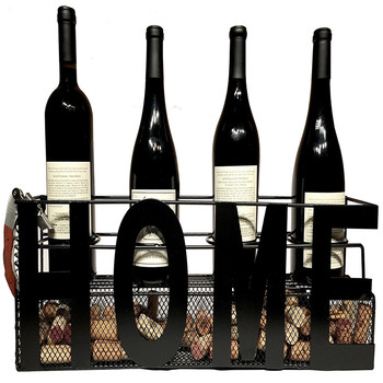 Metal Wall Mounted Wine Rack Cork Holder Buy Wine Display Rack