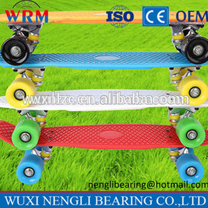 2017 New Design Plastic Skateboard for Sale/ Fish Skateboard