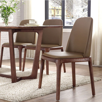 Home Sense Wooden Frame Dining Room Chair Leisure Restaurant Chair