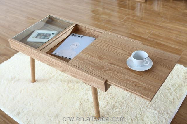 S-1852 Japanese Style Coffee Table Parts With Storage Space