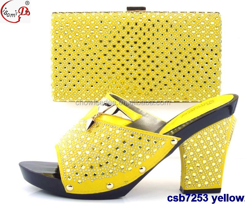 bag and 2016 Shinning party match gold dress Shoes csb7253 Design party Shoes bags Italian Wedding and YR0w1Y