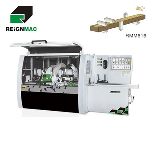 Reignmac carpentry machines 4 side planer moulder for wood planing