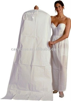 Non Woven Bridal Wedding Dress Cover Garment Bag Long Dressing Gown Bags Storage Las Product
