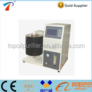 Model CS-0625 petroleum products Carbon Residue Testing Equipment Using Micro Method and SCM control system