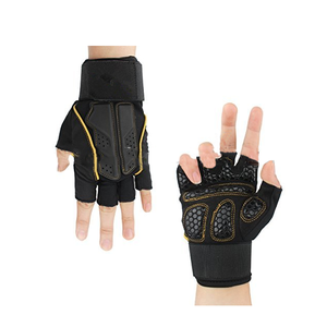 2019 aofeite cheap hot sale custom neoprene riding sports fitness training gloves for gym
