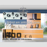 AK405 Modern kitchen corner wall cabinet foshan cabinets