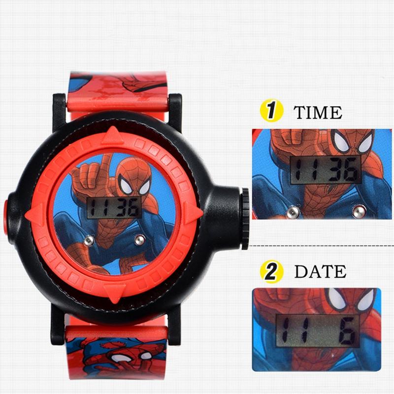 dos desenhos animados digital relógio criança para